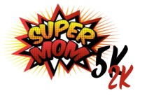 Super Mom 5k and 2k registration logo