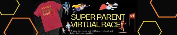 Super Parent Virtual Race registration logo
