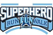 SuperHero 5K/ 1 Mile Fun Run/Walk registration logo