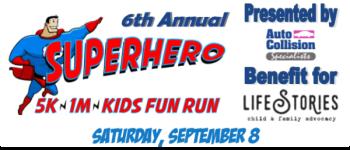 Superhero 5K registration logo