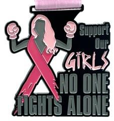 Support Our Girls 1M 5K 10K 13.1 and 26.2 registration logo