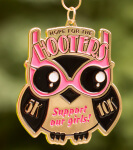 Support Our Girls 5K & 10K -  Hope for the Hooters registration logo
