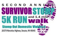 Survivor Stomp 2017 registration logo