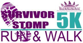 Survivor Stomp 5K registration logo