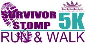 Survivor Stomp 5K registration logo