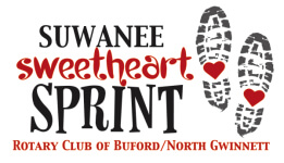 Suwanee Sweetheart Sprint registration logo