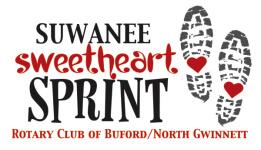 Suwanee Sweetheart Sprint registration logo