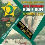 Suwannee Run & Row registration logo