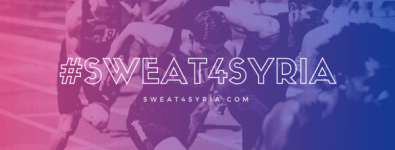 Sweat4Syria registration logo