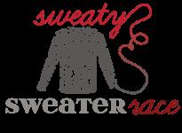 Sweaty Sweater Packet Pickup Reg registration logo
