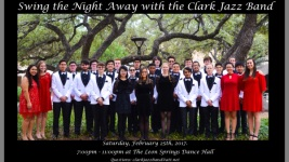 Swing the Night Away with The Clark Jazz Band registration logo