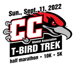 T-Bird Trek Half Marathon, 10K & 5K registration logo