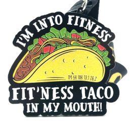 Taco Day 1M 5K 10K 13.1 26.2 registration logo