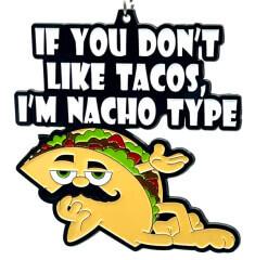 Taco Day 1M 5K 10K 13.1 and 26.2 registration logo
