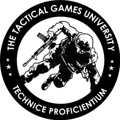 Tactical Games University at Panthera Training registration logo