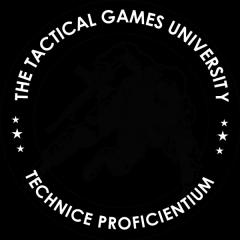 Tactical Games University at Sig Academy registration logo