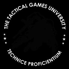 Tactical Games University at Tradecraft Range registration logo