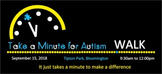 Take a Minute for Autism Kids Fun Run and 1 Mile Walk registration logo