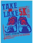 Take the Lake 5K/Kids Mile-2017 registration logo