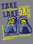 Take the Lake 5K/Kids Mile registration logo