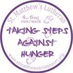 Taking Steps Against Hunger registration logo