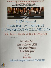 Taking Strides Towards Wellness registration logo