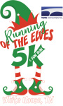 Tate Ornamental Running of the Elves registration logo