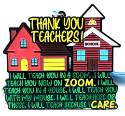 Teacher Appreciation 1M 5K 10K 13.1 26.2