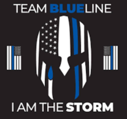 Team Blueline Metro East Honor Run registration logo