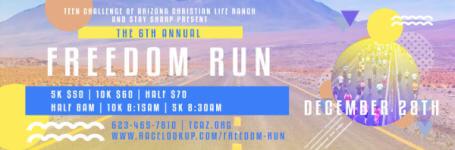 Team Challenge of Arizona Freedom Run registration logo