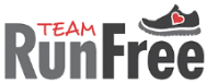 Team RunFree 'Crush Corona' 5K registration logo