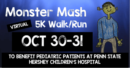 Team Tough's Zombie 5k and Fun Run registration logo
