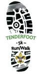 Tenderfoot 5k registration logo