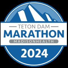 Teton Dam Marathon registration logo