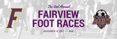 Fairview Foot Races registration logo