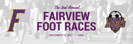 Fairview Foot Races registration logo