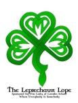 The 28th Annual Leprechaun Lope 5K, 10K and 2-Mile Fun Run registration logo