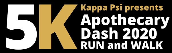 The 9th Annual Apothecary Dash 5K registration logo