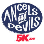 The Angels and Devils 5k registration logo