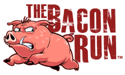 The Bacon Run registration logo