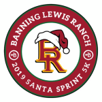 The Banning Lewis Ranch Santa Sprint  registration logo