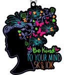 The Be Kind To Your Mind 5K and 10K registration logo