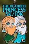 The Bearded Princess 5K & 10K - Ezra and Anson registration logo