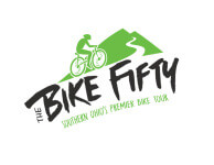 The BIKE Fifty registration logo