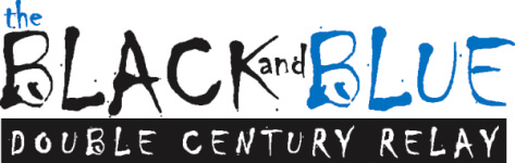 The Black and Blue, Double Century & Relay registration logo