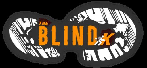 The Blind K Run/Walk registration logo