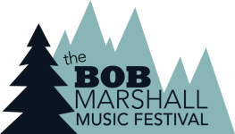 The Bob Marshall Music Festival registration logo