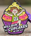 The Cupcake Day 5K, 10K, 13.1 registration logo