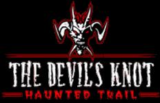 The Devil's Knot Haunted Trail registration logo