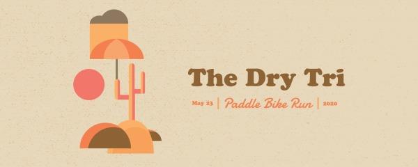 The Dry Tri registration logo